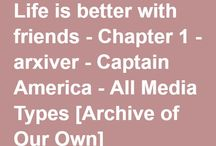 Captain America Fic Recs