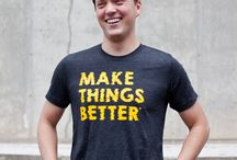 Make Things Better® Tees / Tees available online at our #makethingsbettershop.
