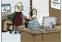Technology Cartoons / Cartoons about technology, IT, mobile devices, telecommunication, programming, and advancements