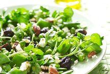 Lekkie sałatki / Przepisy na lekkie i smakowite sałatki ze śliwką kalifornijską. Idealne na lunch do pracy lub lekką kolację. Spróbuj!