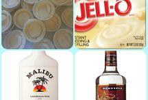 Alcoholic jigglers