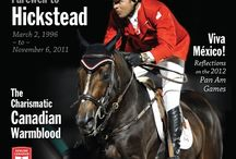 CHJ Covers / Canada's Favourite Horse Magazine for All Breeds & Disciplines
