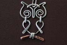 Wire / Gioielli con filo metallico