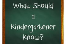 Knowledge of a Kindergartener