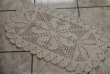 caminhos crochê