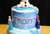 Frozen cakes