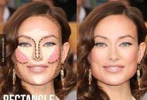 Contour Face shapes