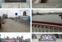 London / My favourite places in London, mostly Blackfriars Bridge