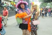 Marcha del Orgullo Gay / Los colectivos LGBT celebraron este sábado 27 de junio de 2015 de forma pública para pedir tolerancia e igualdad. La marcha se llevo a cabo desde Reforma hasta el Zócalo