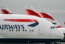 Vliegtuigen  Britisch Airways / Vliegtuigen