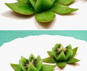 Sculptures fruits legumes