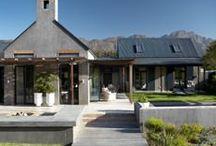 Cape Barn Style Architecture
