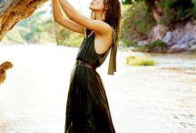 leśny styl ubierania sie