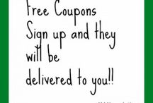 Cuttin those Coupons ☺️ / by Leilani & Diana