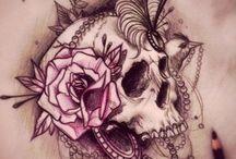 Τατουάζ Με Κρανία