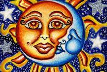 Sun-Moon / by Cris Derrick