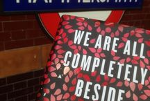WAACBO goes Underground / To coincide with publication of We Are All Completely Beside Ourselves by Karen Joy Fowler, we left 250 copies on the London Underground for lucky commuters to pick up. http://bit.ly/P4UyLr
