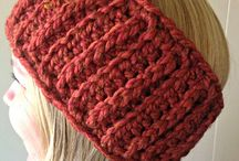 Crochet and Knit Earwarmers and Headbands