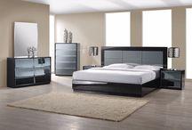 Modern Black Bedroom Collection Florida