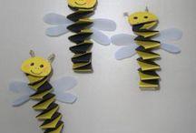Bijen en bloemen, groep 3