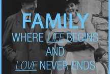 Quotes & Family / This is a collection of quotes over images from the Wolf family history.