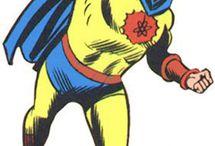 The Atom - Red Crest/Yellow / Al Pratt