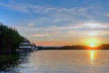 Lake Joseph, Muskoka / Beautiful Lake Joe in Muskoka