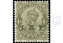 British India - Stamps of Indian Expeditionary Force / Variety of stamps of Indian Expeditionary Force of British India