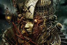 Steampunk / Steampunk art, Steampunk jewellery (jewlry), Steampunk everything