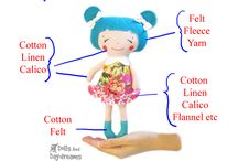 Free Doll & Toy Making Tutorials / Lot's of fabulous fun tutorial from DollsAndDaydreams. com