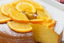 torta di arance e yogurt