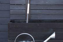Säilytyslaatikko terassille