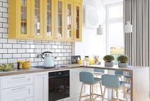 Идеи для кухни-гостиной