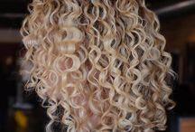Yolande's hairstyles