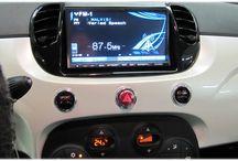 Fiat 500 / Installazioni car audio & video su Fiat 500