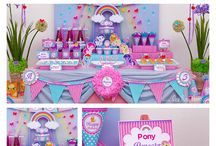 Jr. Party Ideas / Party ideas for kids. Dessert table, table setting, design and stuffs.