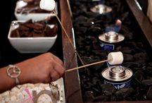 S'more Station / DIY at home s'more station and s'mores party!