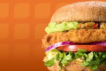 veganskt / glada djur och vegansk mat