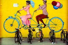 Street Art and Bikes