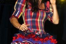 vestido Ivete festa junina