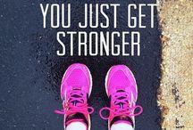 Sweat it out.