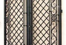 porte in ferro battuto