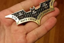 CPO Challenge Coins / USN Navy Chief Challenge Coins and some Non CPO Coins