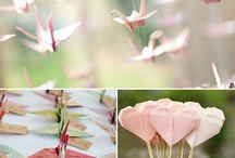 "Mariage ""origami"""