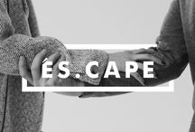 ÉS.CAPE / ÉS.CAPE [es-cah-paeh] (n.) An unparalleled style blog for the man and the woman. Two creative individuals exploring their own ÉS.CAPE through fashion, art, and the world surrounding them. Inspired by experiences & aesthetics, ÉS.CAPE captures their vibrant city through style and design. http://www.es-cape.co