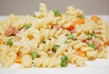 Recepten voor pasta en groentetaarten
