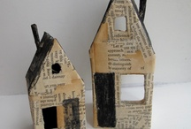 houses artwork