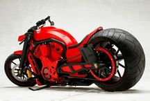 Porches custom motorcycle
