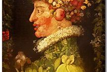 ArtEd- Arcimboldo / Giuseppe Arcimboldo, Italian Renaissance Artist (1527-1593) / by Donna Staten