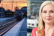Järnvägsrelaterat / Artiklar, filmer, bilder och annat som är relaterat till järnvägsbranschen.